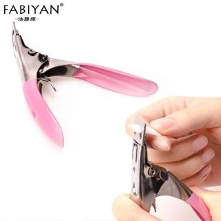 New Professional Nail The Edge Finger Cutter Clipper Scissors Acrylic UV GEL False Tips Care Stain