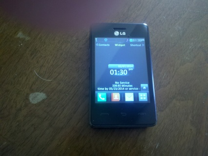 Free: LG Cell phone from track phone - Phones - Listia com Auctions