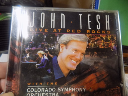 John Tesh Live at Red Rock CD with Colorado Sympony  Orchestra