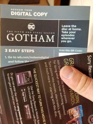 Gotham season 5 final digital copy