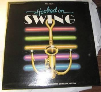 hooked on swing larry elgart his manhattan swing orchestra lp