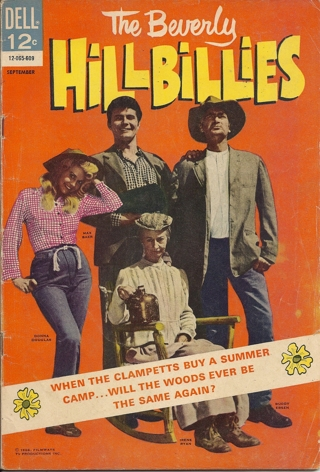 (CB-50) 1966 Dell Comic Book: The Beverly Hillbillies #14 { Photo Cover }