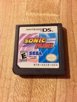 DS Sonic Rush