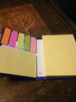 Sticky Note Pad  booklet