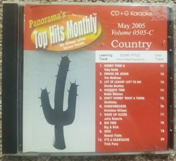 COUNTRY KARAOKE CDS- LOT OF 2