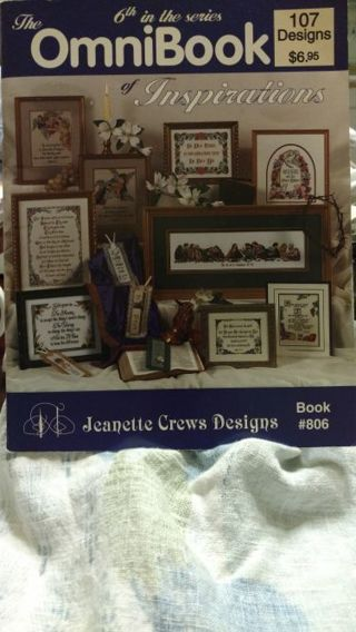 THE OMNIBOOK OF INSPIRATIONS CROSS STITCH BOOKLET