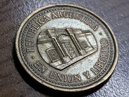 1994 Argentina 50 Centavos Coin