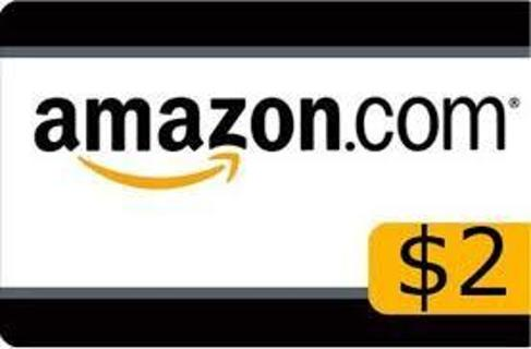 2 dollar amazon gift card