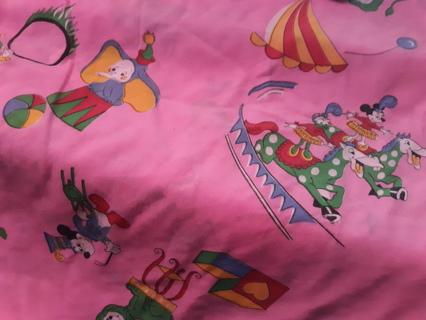 Pink Disney Hanging Corner Toy Net