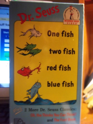 Free dr seuss one fish two fish red fish blue fish vhs for One fish two fish red fish blue fish
