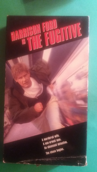 vhs the fugitive free shipping