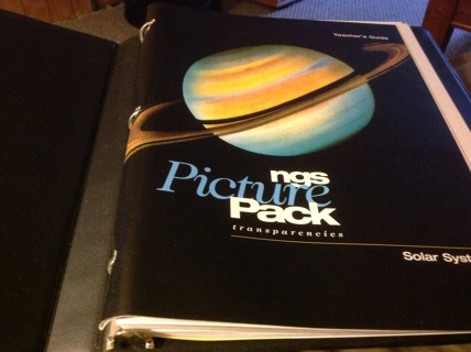 NATIONAL GEOGRAPHICAL SOCIETY- NGS PICTURE PACK TRANSPARANCIES- SOLAR SYSTEM