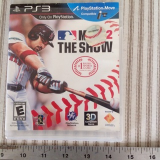 PS3 MLB12 gaming disc, looks nice, original case no booklet.