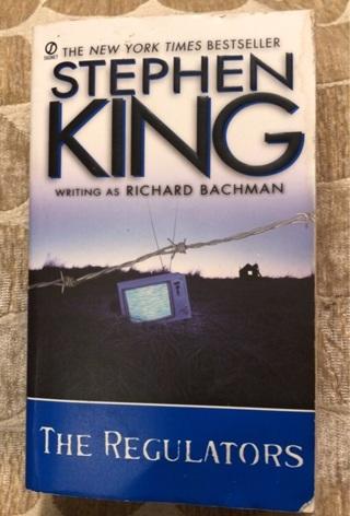 Paperback Book: The Regulators by Stephen King Writing As Richard Bachman