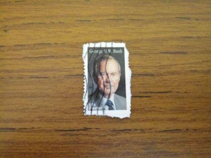 George H.W. Bush (used) stamp - Republican