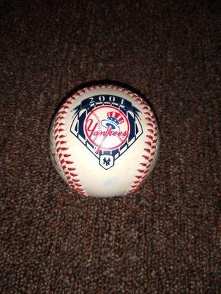 2001 Yankees Team Facismile