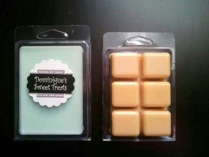 """""""LAVENDER & VANILLA"""" SCENTED WAX TART MELTS-SCENTSY COMPATABLE - TRIPLE SCENTED"""