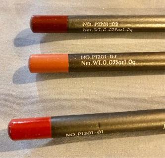 "BN! Three Shades ""PUDAIER"", Lip Liner Pencils. Smooth, Creamy, Great Colors!! #'S 1, 2 & 7"