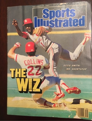 Vintage 1987 Sports Illustrated magazine