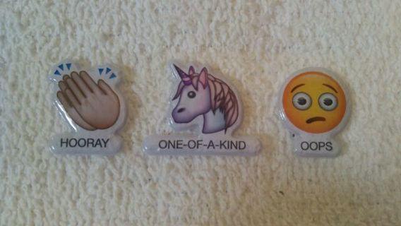 Emogi puffy Sticker