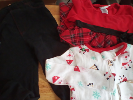 Girls (24-2T) HolIday Clothing: GUC