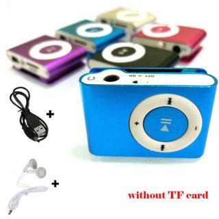 Portable USB Digital Mini Mp3 Music Player Support 32GB Micro TF Card + Headset