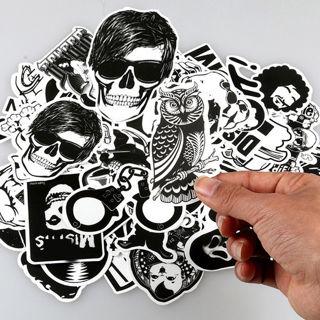 50Pcs Stickers Skateboard Sticker Bomb Graffiti For Phone Laptop Luggage Car