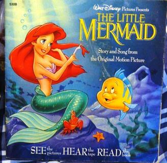 The Little Mermaid..Disney Book No Cassette