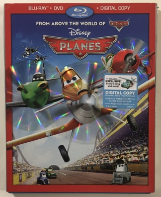 Disney Planes 2-Disc Blu-ray / DVD Combo Movie with Case and Artwork!