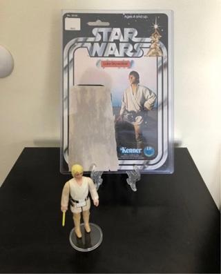 Star Wars (Rare and Complete)  action figures of Luke Skywalker 1977