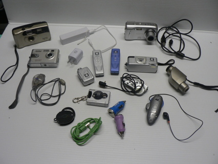 Electronics, Toys, Gadgets- Digital CAMERAS and More USB, Spy Gear n STUFF