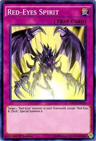 Red-Eyes Spirit DRL2-EN020 Super Rare 1st Edition Dragons of Legend 2 1st Edition yugioh cards tcg