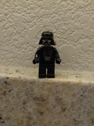 Darth Vader Lego Figure Instructions
