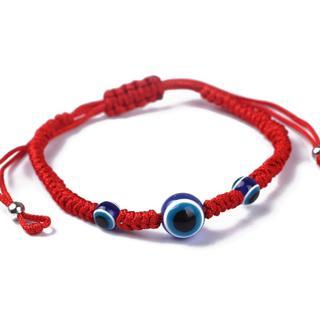 Blue Evil Eye Kabbalah Red String Bracelets Adjustable Fashion Jewelry Unisex
