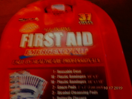 37 piece first aid kit