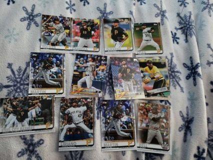 Pittsburgh Pirates Card lot