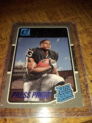 deAndre Washington, rated rookie press proof, raiders
