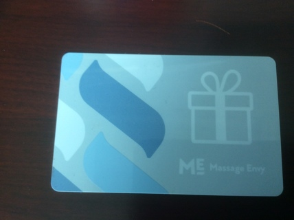 ME Massage Eny $20 Gift Card : No Expiration Date