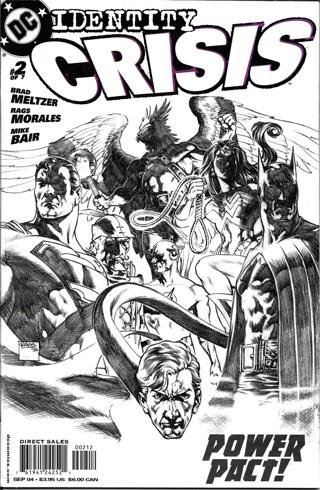 Identity Crisis #2 DC Comics Power Pact!