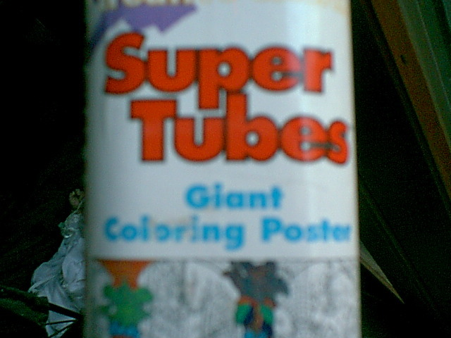 Free: VERY COOL SUPER TUBES COLORING POSTER - Other Toys ...