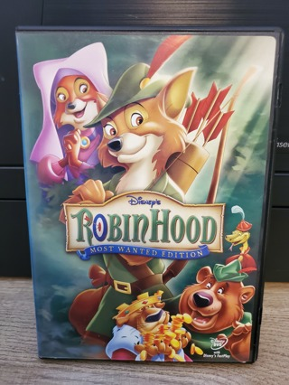 """Disney DVD - """"Robin Hood - Most Wanted Edition"""" - rated G"""
