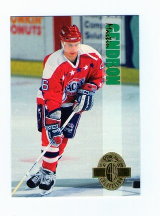Martin Gendron Card