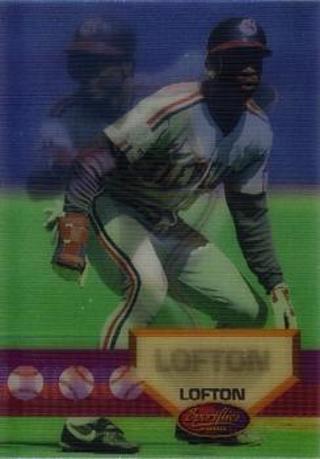 Free Kenny Lofton 1994 Sportflics Baseball Card 43 Cleveland