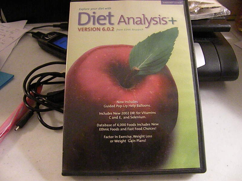 diet analysis Diet analysis plus, 2 terms (12 months) printed access card: 9780538495080: medicine & health science books @ amazoncom.