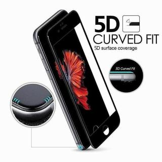 For iPhone 7 6S 6 Plus 5D Curved Full Cover Tempered Glass Screen Protector Film