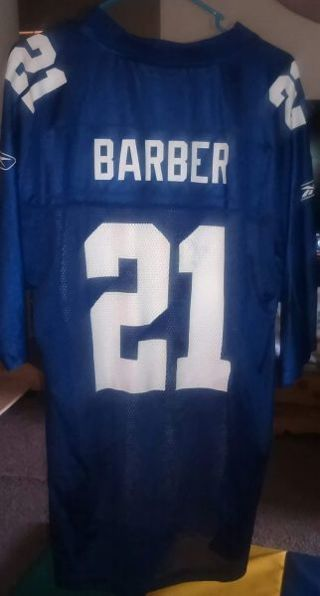 NEW YORK GIANTS NFL JERSEY ( LARGE )
