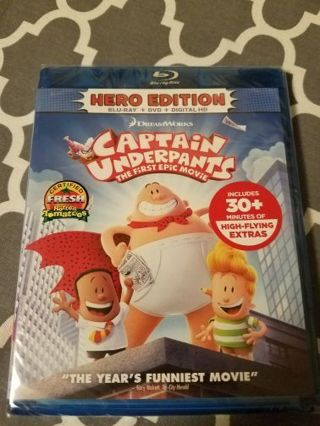 free dreamworks animation captain underpants the first epic