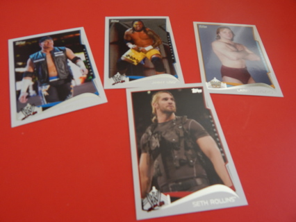 COLLECTABLE WRESTLING cards from TOPPS