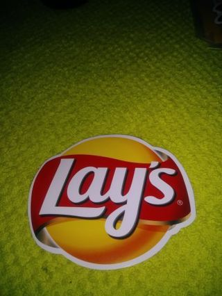 "❤✨❤✨❤️BRAND NEW ""LAY'S®"" STICKER❤✨❤✨❤"
