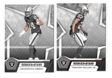 2019 - Raiders - Rookie & Stars